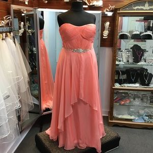 Alyce 6545 Coral size 18